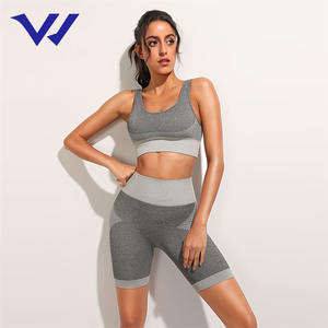 Hot Selling Vrouwen Fitness Kleding Naadloze Sport Top Yoga Leggings Gym Yoga Set Sport Pak Voor Workout
