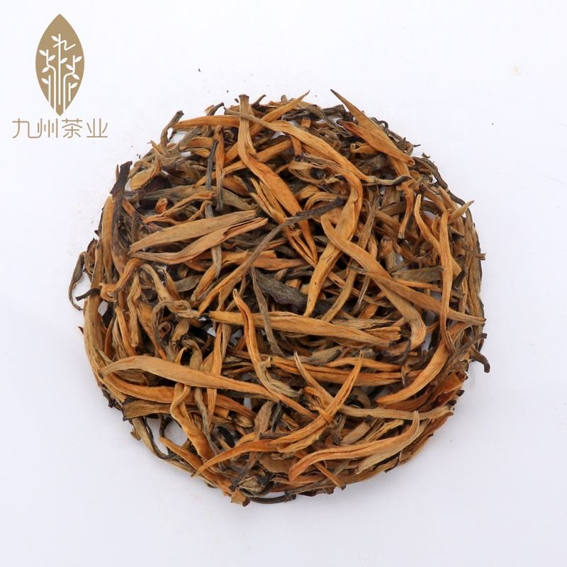Organic Loose Leaf Golden Monkey Dianhong Jinya Bud Tips Leaves Chinese Black Tea From Yunnan