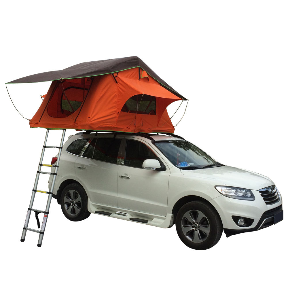 4 Persons Fiberglass Car Roof Top Tent