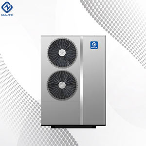 Nulite R410A Apartment Air Source Heater B345 100E Hot Water Air to Water DC Inverter Heat Pump