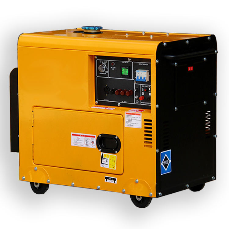 HOT!!! 7KW silent diesel generator with ATS