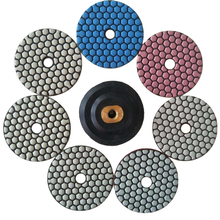Diamond Flexible Dry Polishing Pad For Grinding Stone
