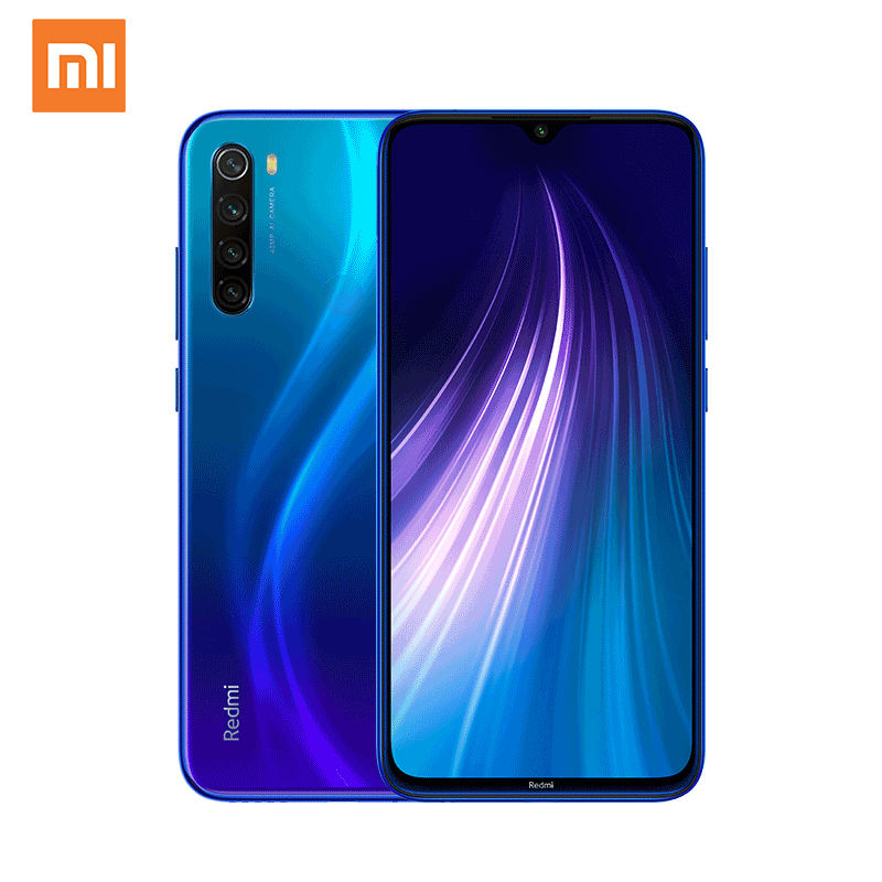 Smartphone Global Versie Xiaomi <span class=keywords><strong>Redmi</strong></span> <span class=keywords><strong>Note</strong></span> <span class=keywords><strong>8</strong></span> 3 Gb 32 Gb Snapdragon 665 48MP Mobiele Telefoon