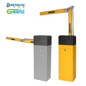 High Quality High speed straight fold arm fence barrier gate for car parking management