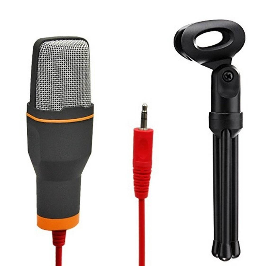Top selling SF-666 Condenser Microphone with Desktop Stand for PC Computer Laptop Recording Chatting Gaming Singing