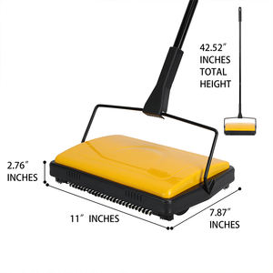 hard brush special for carpet cleaning hand manual floor sweeper