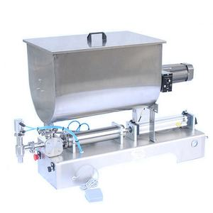 excellent quality U-type mixing Ketchup, peanut butter, fruit jam, Chili Sauce filling machine