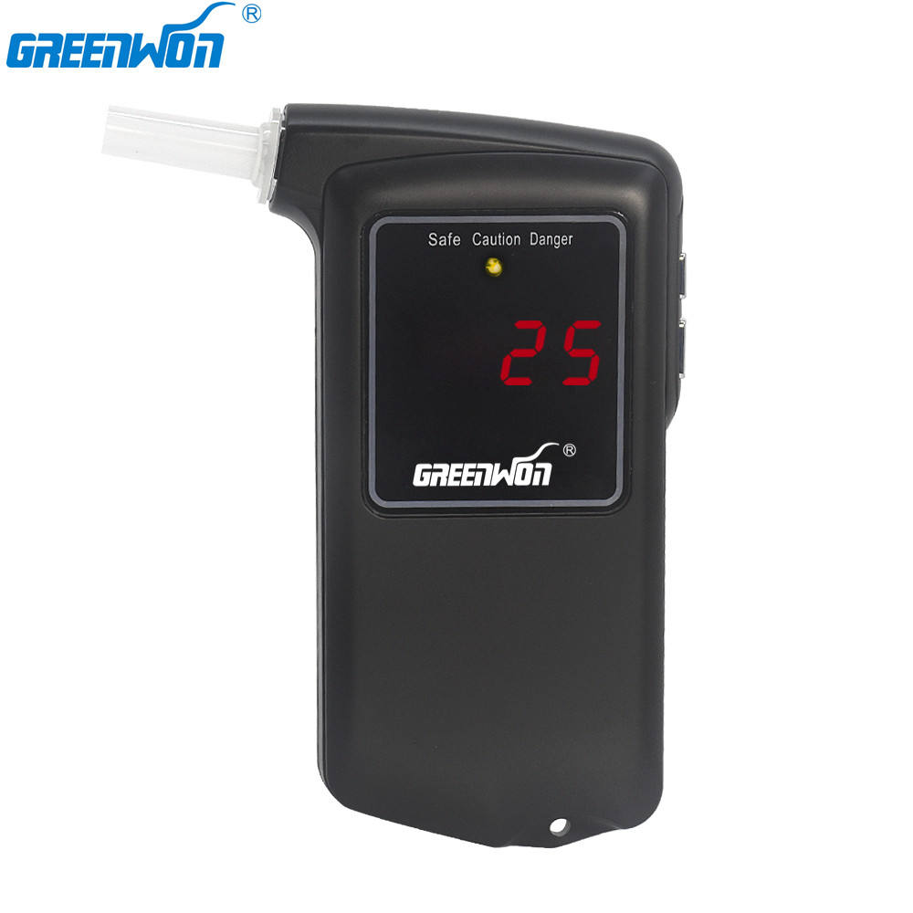 GREENWON Wholesale Portable Breath Alcohol Tester & Patent Product with CE&ROHS&FDA Approved Breathalyzer