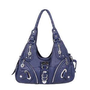Angel kiss Trendy factory wholesale ladies pu handbag