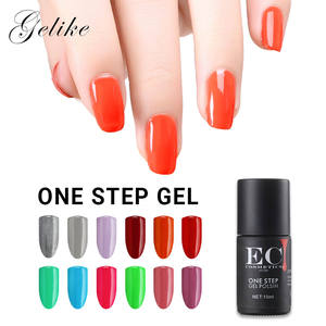 Popular solon colores brillo brillante mate un paso esmalte de uñas de gel simple aplicación niñas set de manicura kit completo