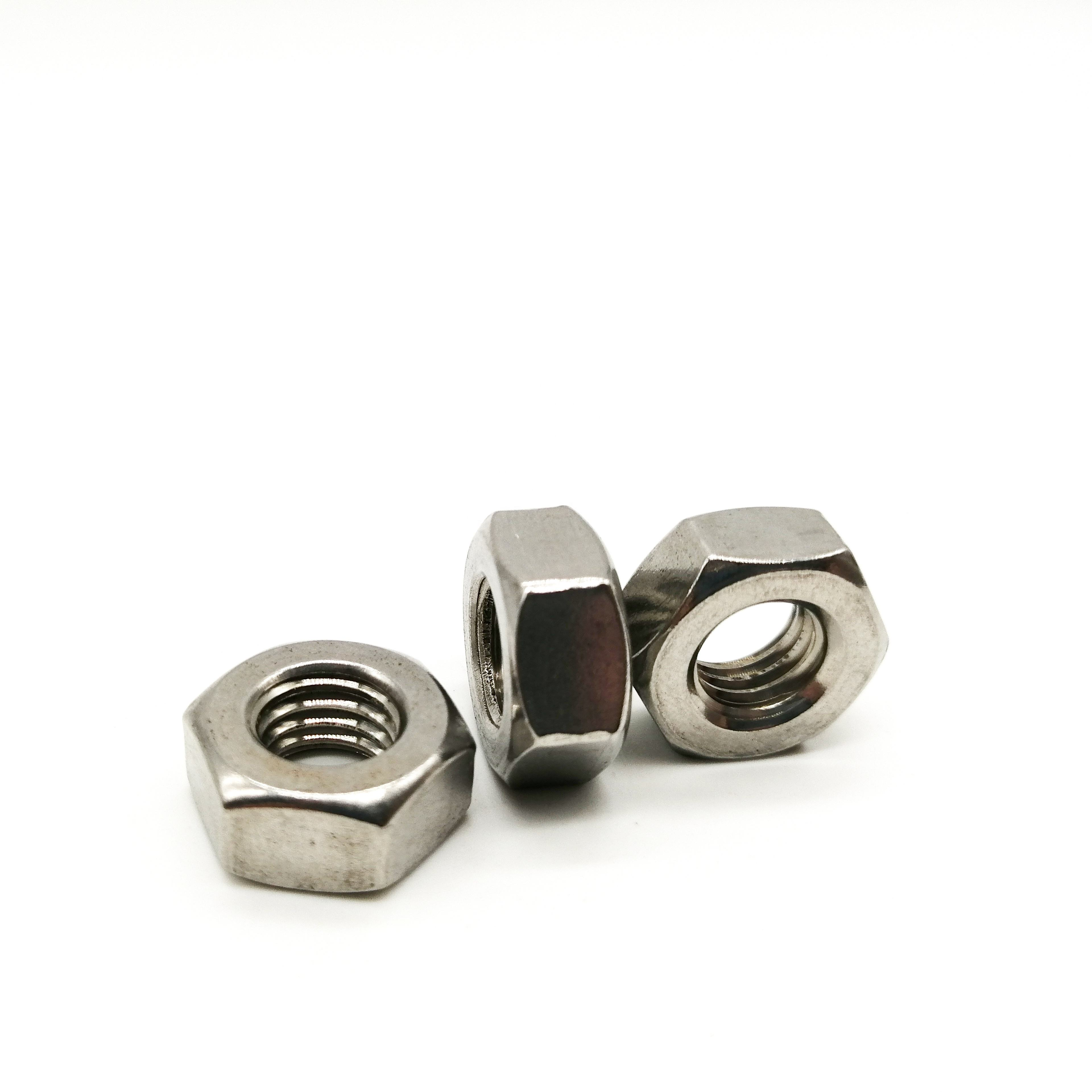 China factory DIN 934 stainless steel 50mm 22mm hex nut 3/4-24
