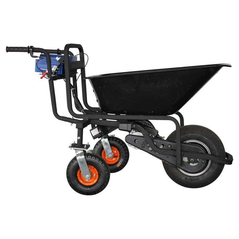 Electric trolley with lithium battery/hand trolley /garden hand cart