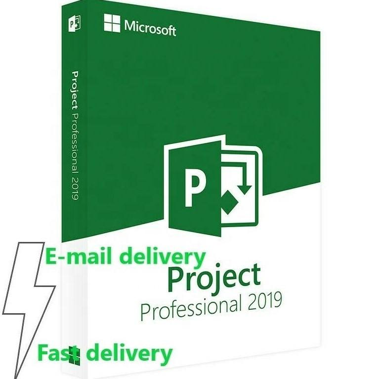 Microsoft Project Professional 2019 32/64 Bit Download Genuine License Code 1PC project 2019 pro key download