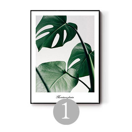 G&D Wholesale Plant Style Art Hanging painting For Wall Decor