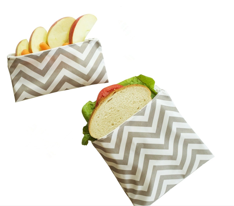 Fashionable New Design Reusable Food Warp Dog Food Packaging Printing Cloth Waterproof Snack Bags