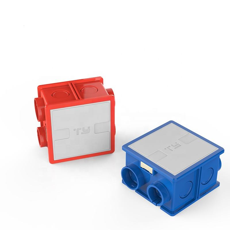 PVC PLASTIC ELECTRICAL FITTING BOX