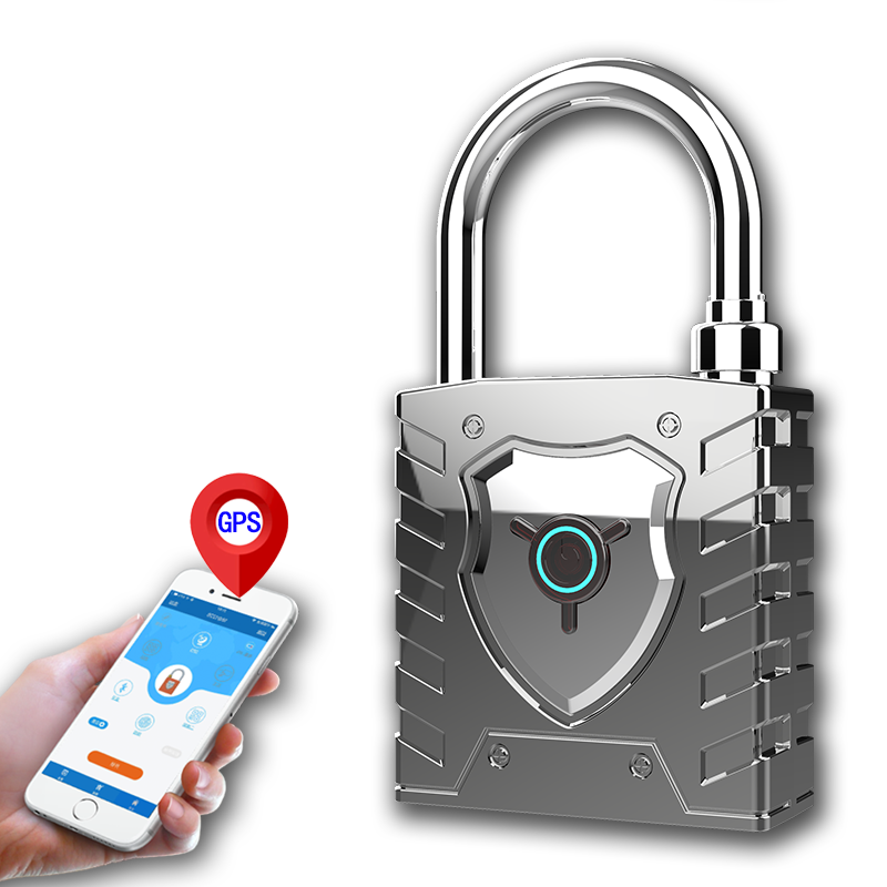 Best Quality Smart Padlocks, Application Smart Locks,fingerprint padlock bluetooth smart