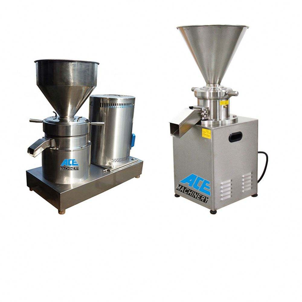 Stainless Steel Peanut Butter Grinding Machine Colloid Mill For Leather Toothpaste