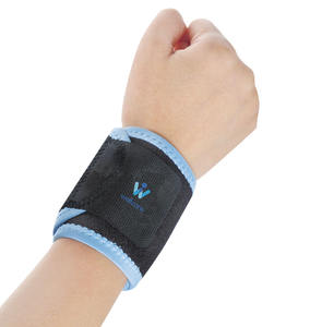 Wellcare 41002 Wrap Straps Sports Support Adjustable Breathable Wrist Brace Support For Joint Stabilization