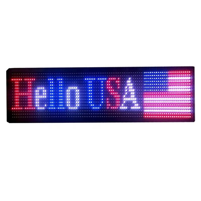 Outdoor Full Color led Sign led Scrolling Display and Perfect Solution for Advertising