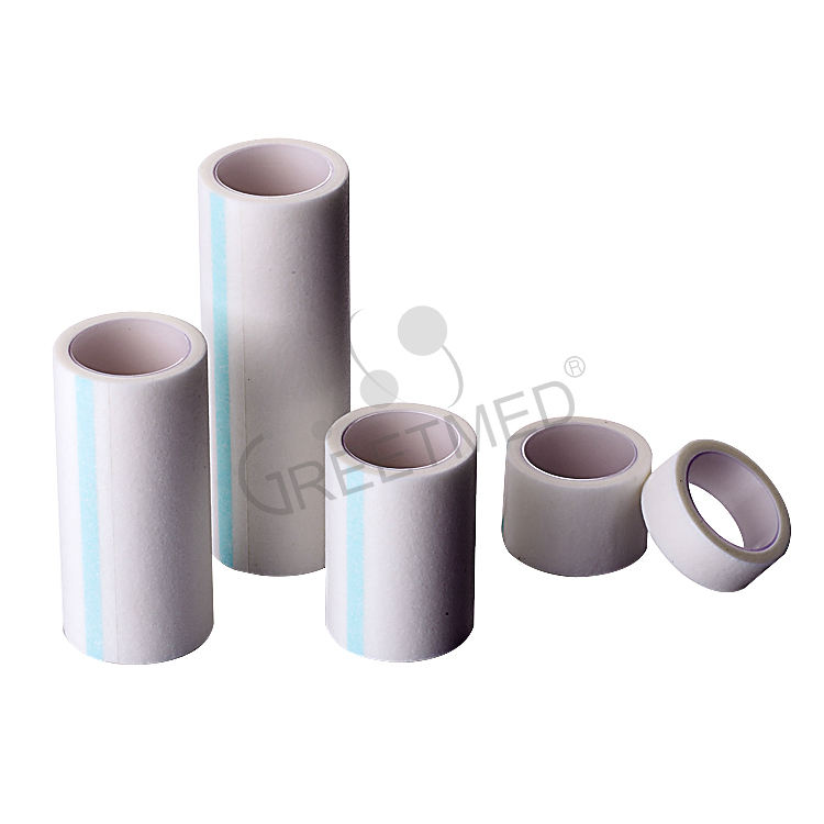 China manufacturer medical white skin color non woven surgical tape