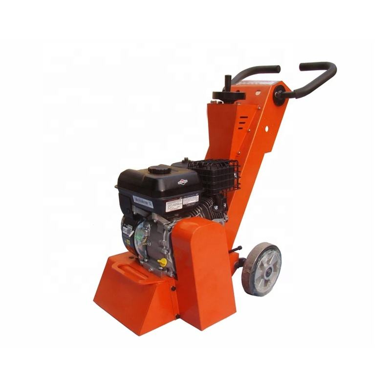 Asphalt floor scarifying machine