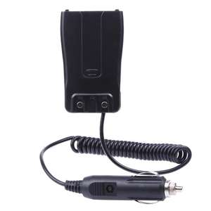 Mobil Charger Eliminator Adaptor DC 12V untuk Dua Cara Radio BF 888S Baofeng Portable Walkie Talkie BF-888S 666S 777S