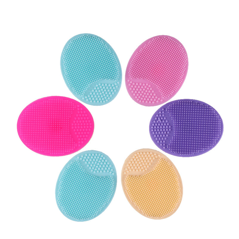 Silicone Electric Facial Cleansing Brush Face Cleaning Spa Massage Scrubber Massager Face & Body