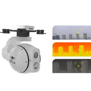 3-Axis EO/IR Infrared Thermal Imaging UAV/Drone Kamera Pod Gimbal