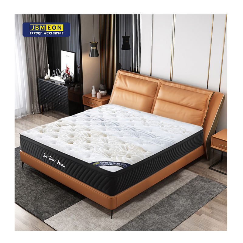 Foshan high quality orthopedic mattress single twin full queen king size latex pocket spring mattresses