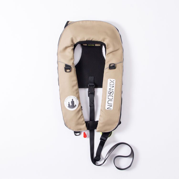 Fishing & boating adult CE certificate Automatic Inflatable Lifejacket CO2 Gas life vest jacket