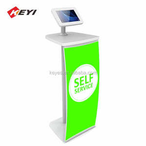 Custom Shopping Mall Stand Ipad Stand Display / Kiosk Stehen