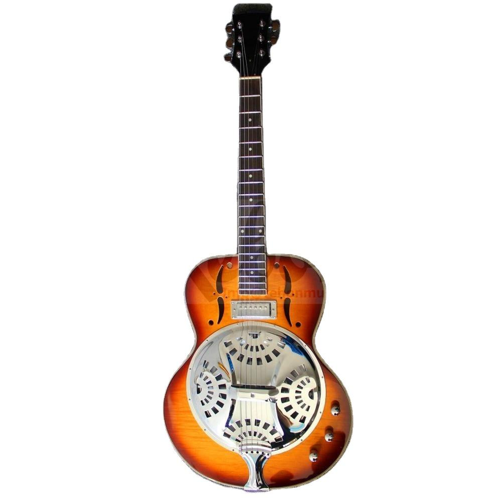 Weifang Rebon Resonator Loại Do-bro <span class=keywords><strong>Guitar</strong></span> Acoustic