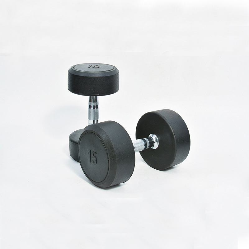 Body Building Weight Lifting Training Dumbbell Set weights dumbbells rubber dumbbells for sale