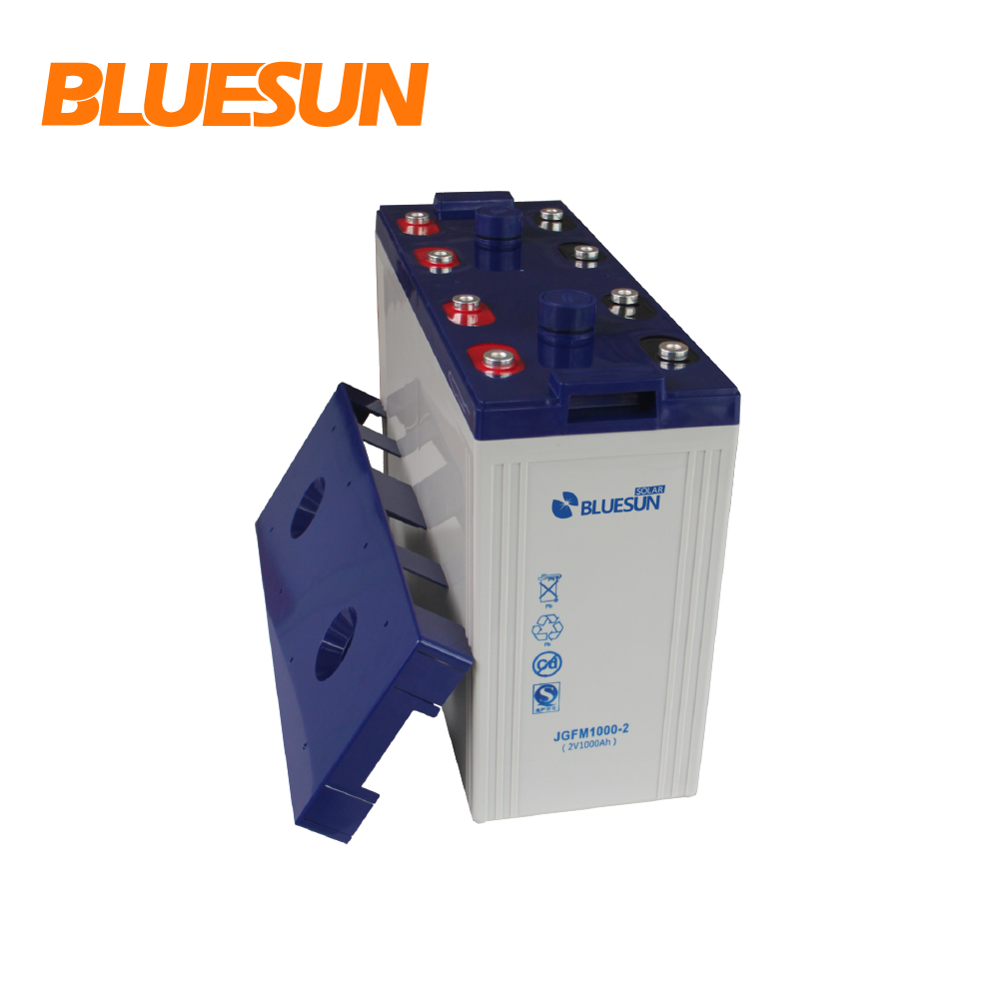 high quality battery 1000ah 12V 24V 48V vrla solar battery 2v 1000ah 2000ah solar batteries
