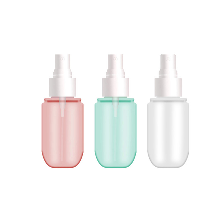 40ml 60ml 120ml 150Ml Cosmetici Colorful Personalizzato Pompa di Plastica PET Belle Mist Spray Bottiglia