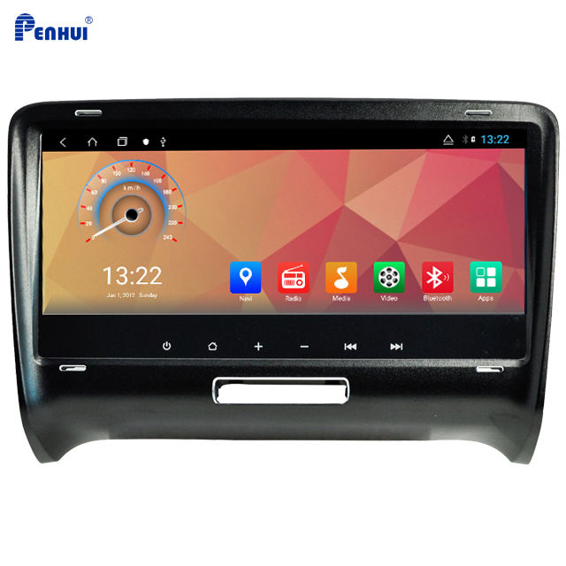 8.8 inch Android Octa Core 4GB RAM/64GB ROM Car DVD GPS Multimedia Player for Audi TT (2006-2014) With CarPlay/DSP /Wifi/4G