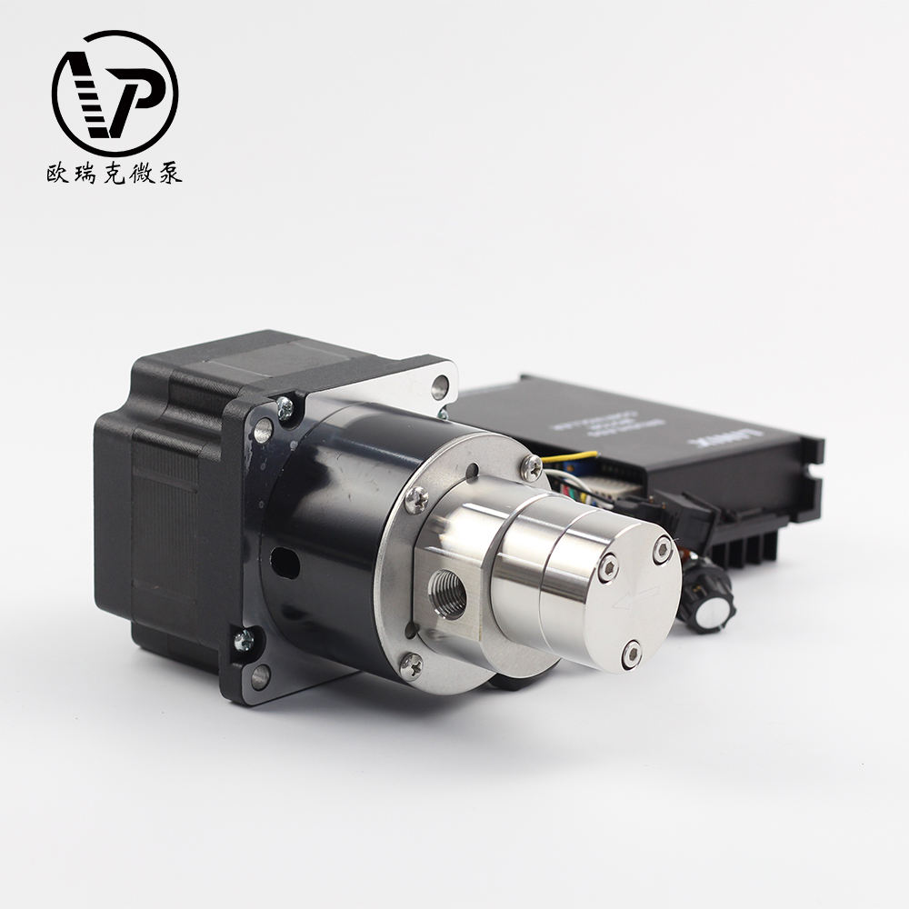 Water Gear Pump 200W Dc Brushless Water Pump Electric Magnet Drive Micro Gear Pump/ Chemical Resistance Gear Pump