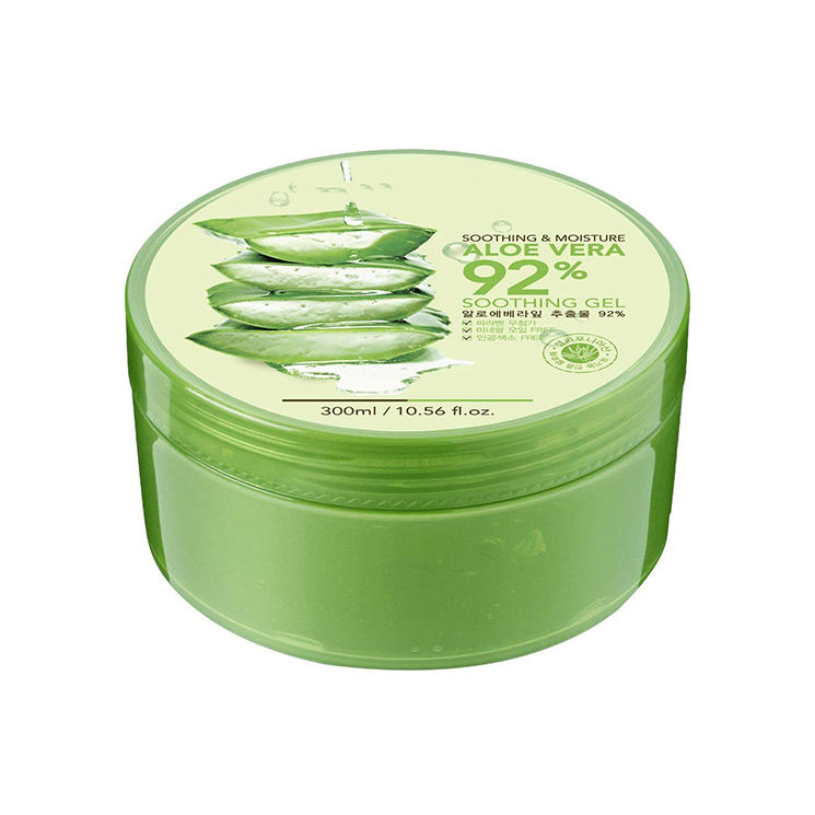 Private label korea Skincare best natural moisturizing soothing Organic 100% natural pure aloe vera gel for face