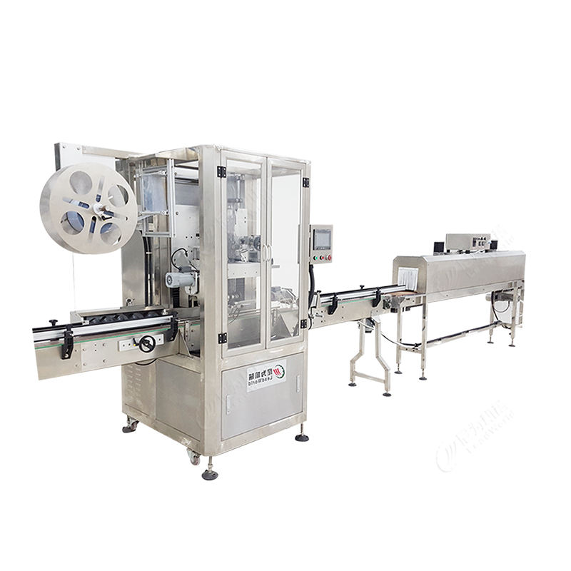 Automatic Shrink Sleeve Labelling Machine