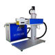 Split portable 20W 30W jpt mopa fiber laser marking machine with automatic focusing system