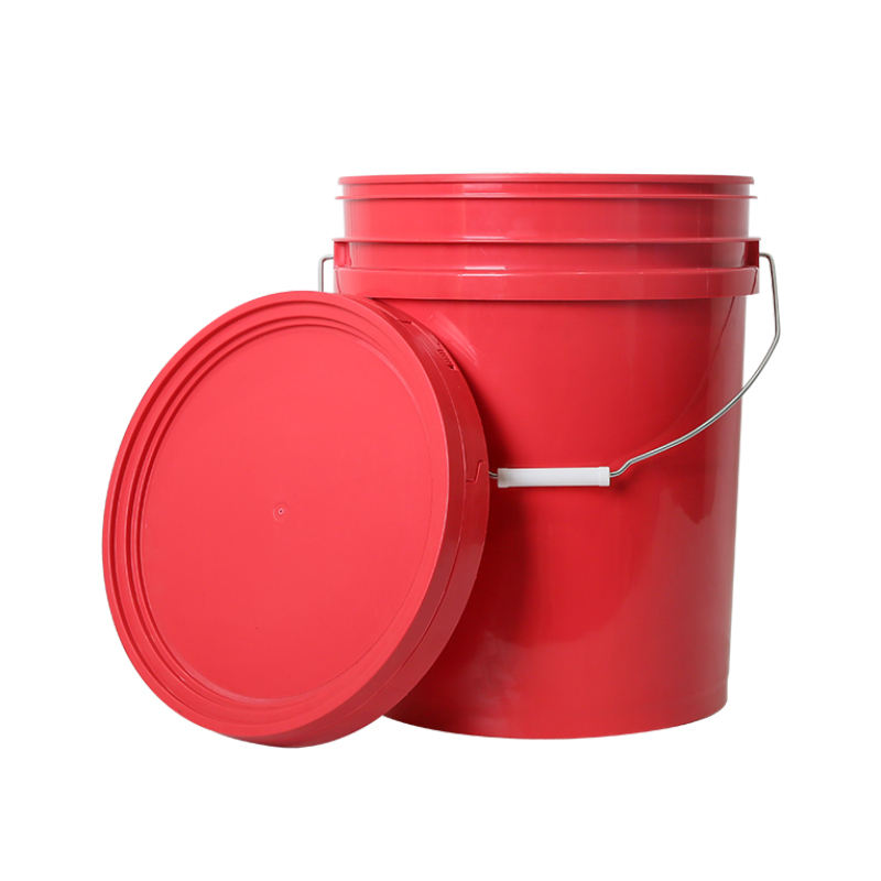plastic pail bucket for paint 20l plastic bucket handle use for Industry and agriculture