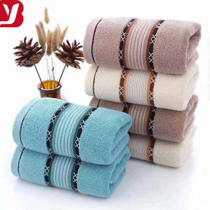 2019 NEW STYLE 100% cotton towel 16s 105g 35*75cm hand towel with factory price soft hand feeling