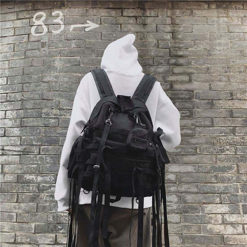 Function backpack for men and women Japanese school bag female leisure high school students