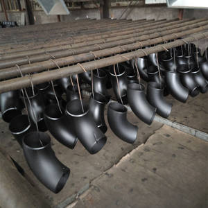 black carbon steel pipe fittings elbows