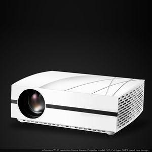 Projecteur F20Pro FULL HD 1080P projecteur home cinéma projecteur led intelligent numérique 360 degrés ajuster lentille projecteur