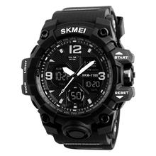SKMEI 1155B Wristwatch Men Cheap relojes hombre Sports Digital Analog Watch waterproof watches