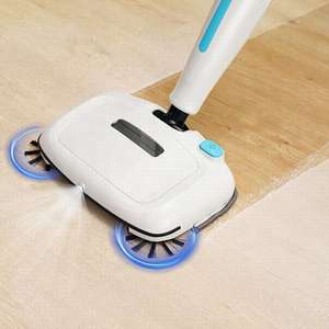 Household electric cordless sweeping machine manual floor dust cleaning sweeper