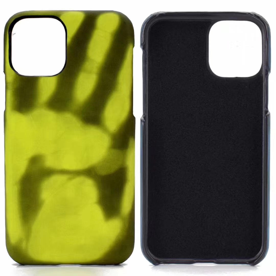 2020 New Thermal Induction Touch Discoloration Universal Mobile Phone Case