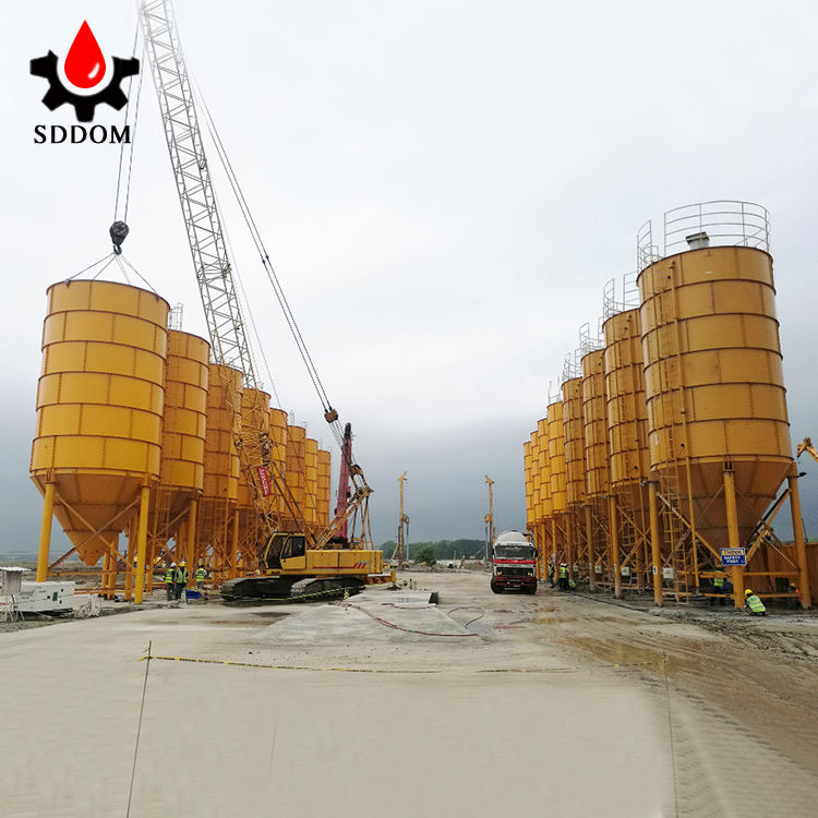 SDDOM Brand 30 to 3000tons Steel Silo bolted type cement silo powder silo price